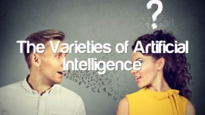 The Varieties of Artificial Intelligence