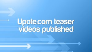 Upote.com teaser videos published